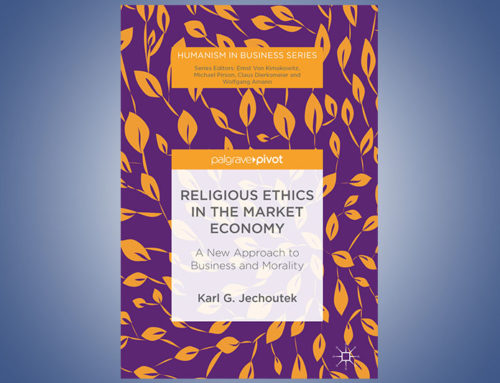 Religious Ethics in the Market Economy