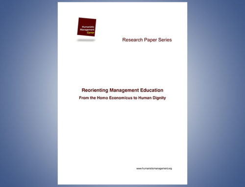 Reorienting Management Education